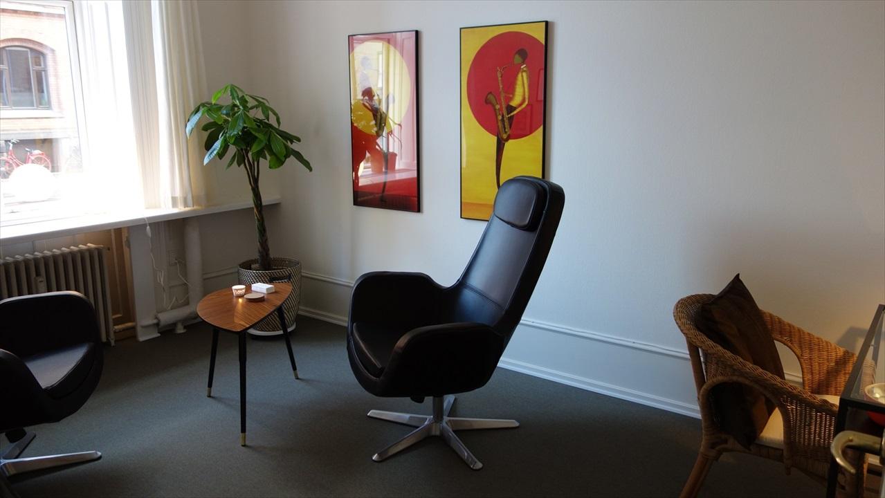 Billede fra kliniklokalerne i København